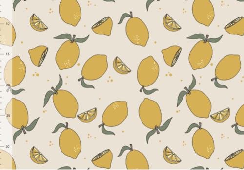 Elvelyckan Bio tricot - Lemons Creme