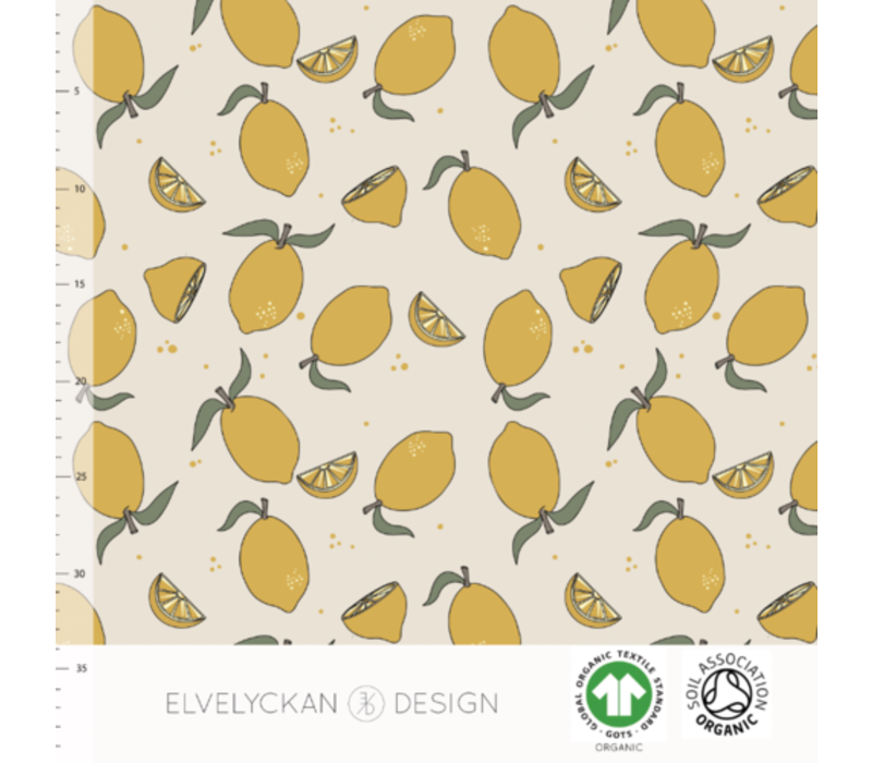 Bio tricot - Lemons Creme