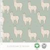 Elvelyckan Bio tricot - Alpaca Sea Green