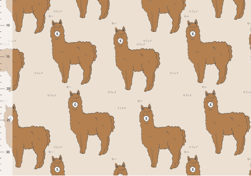 Elvelyckan Bio tricot - Alpaca Creme