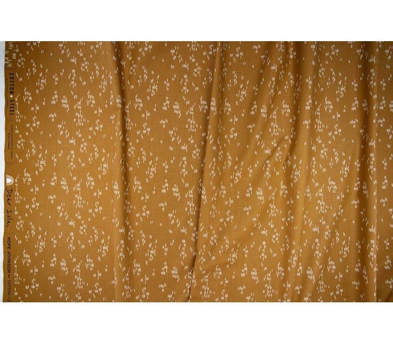 Cotton Dear Isla - Mustard stripes