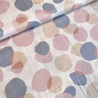 Single Gauze Dots Pastel