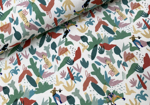 Capsule Fabrics French Terry - The Gardener