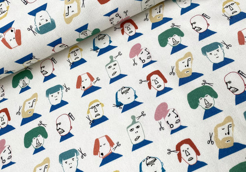 Capsule Fabrics French Terry - The Hairdresser