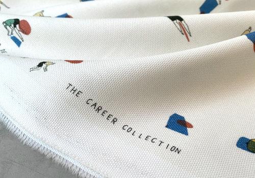 Capsule Fabrics Panama Structured Cotton - The Bike Messenger
