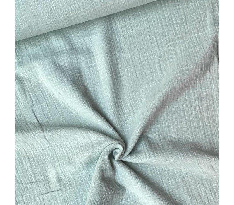 Linen double gauze Minty
