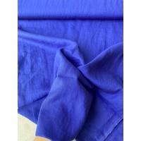 Washed Linen Royal Blue