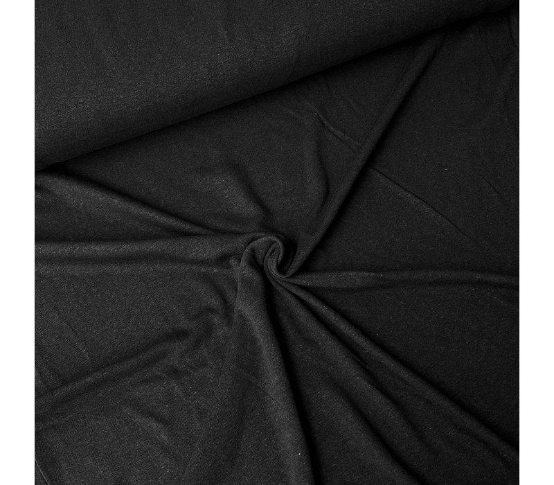 Linen Jersey Black