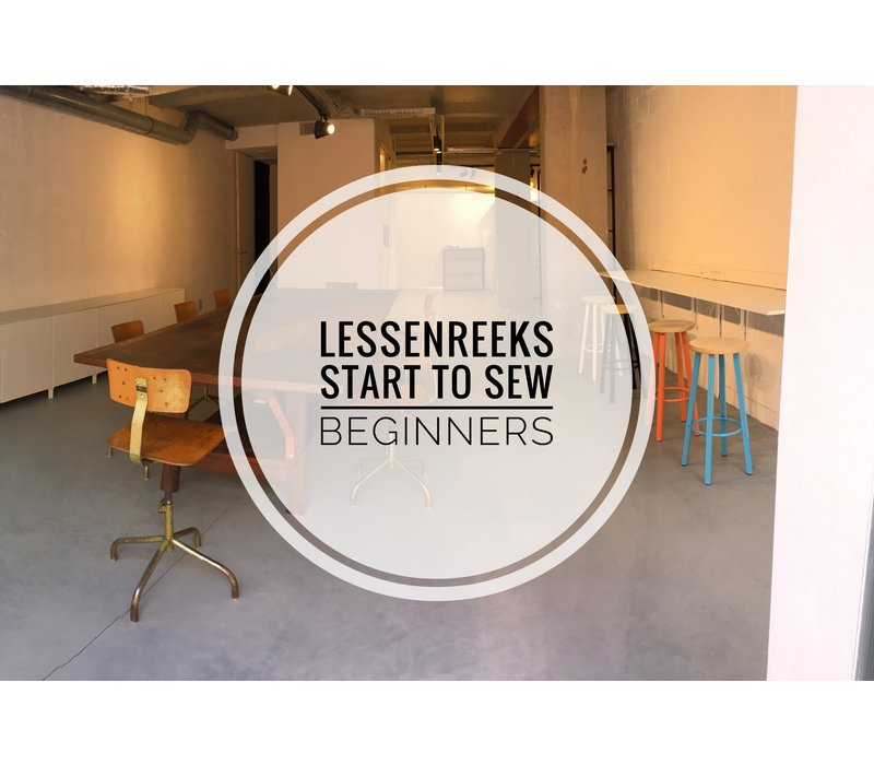Workshop Start To Sew november