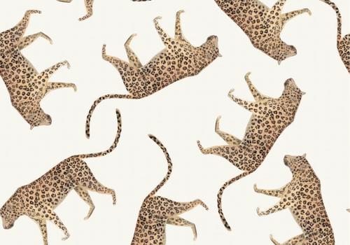 De Stoffenkamer Tricot Digital Leopards