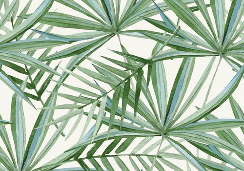 De Stoffenkamer Tricot Digital Palms