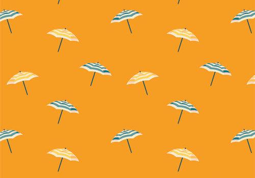 Art Gallery Cotton Sunburst - Umbrella Time