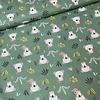 De Stoffenkamer Cotton - Koala Bunch Soft Green