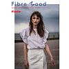 Fibre Mood Woven Cotton Dashed red - Belle