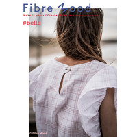 Woven Cotton Dashed red - Belle