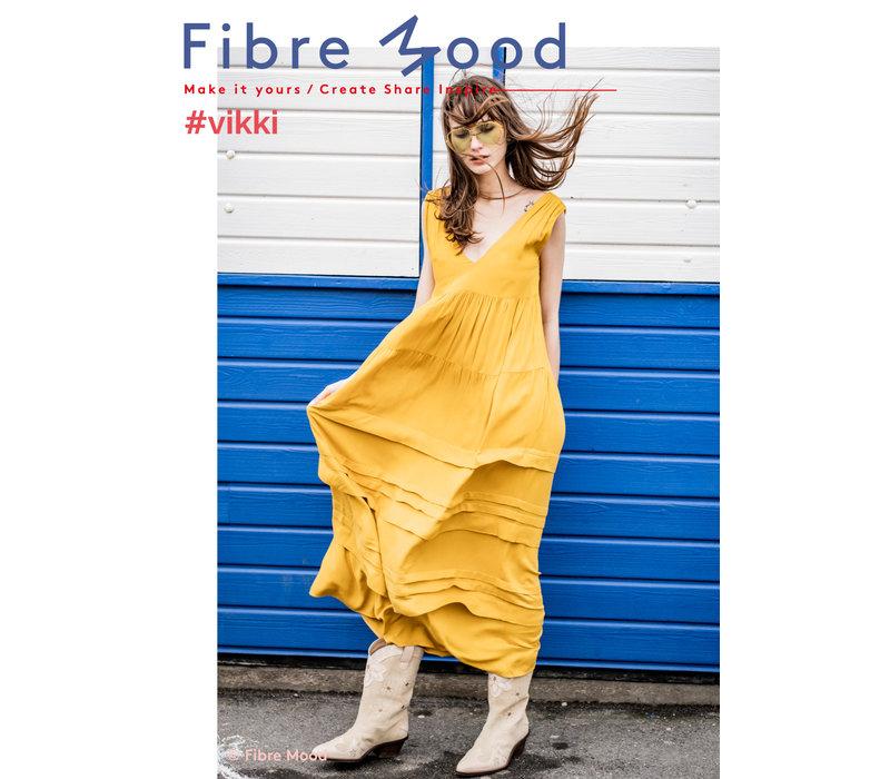 Crepe Viscose Golden Price - Vikki