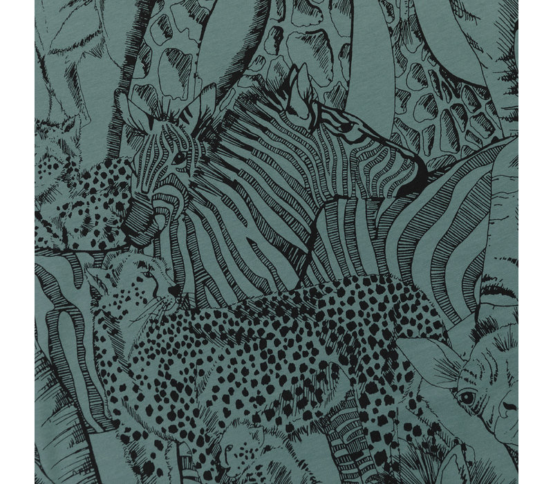 SYAS French Terry Wild Animals