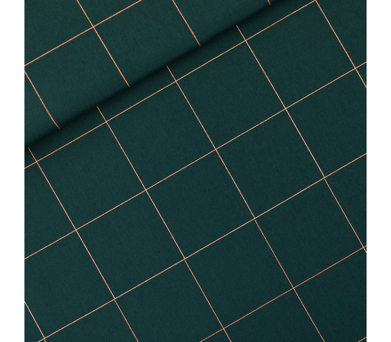 SYAS Canvas Gabardine Twill Thin Grid XL