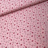 De Stoffenkamer Tricot pink mini flowers