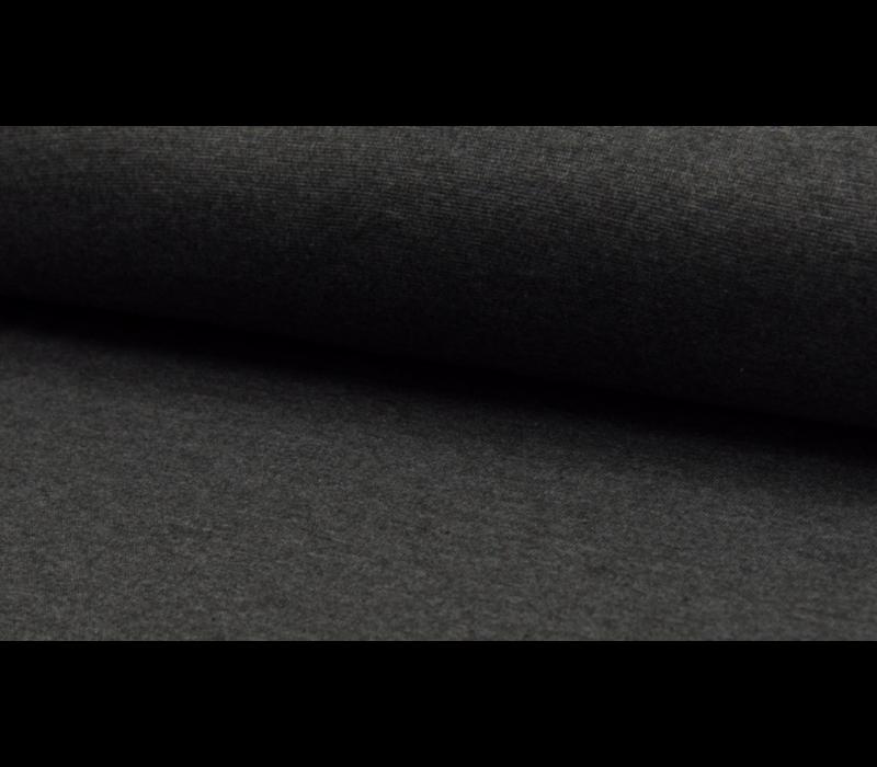 Boordstof 75cm Dark grey melange
