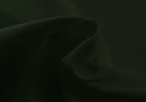 De Stoffenkamer Effen tricot Forest Green