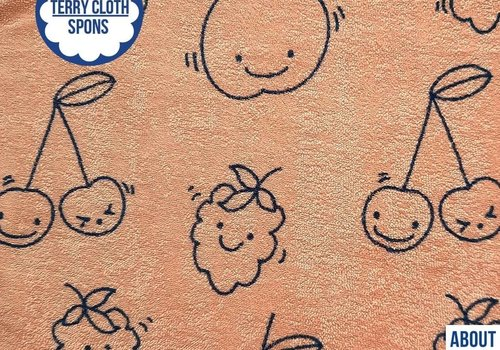 About Blue Fabrics Spons - Happy Fruit
