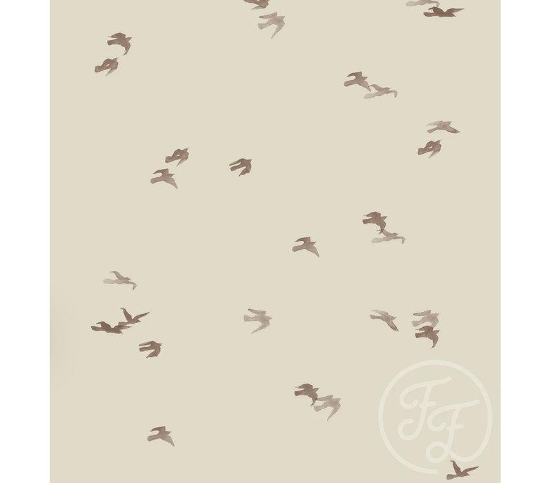 Tricot Birdflight grey