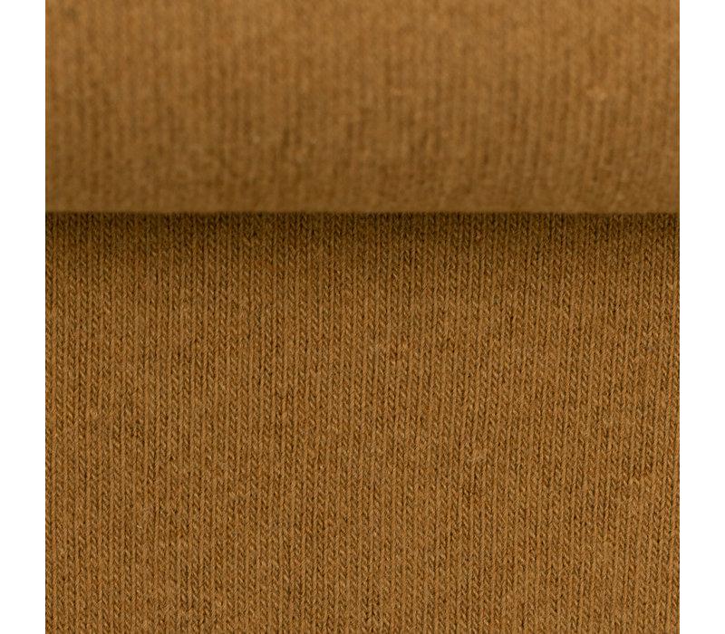 Soft Cotton Knit - Oker