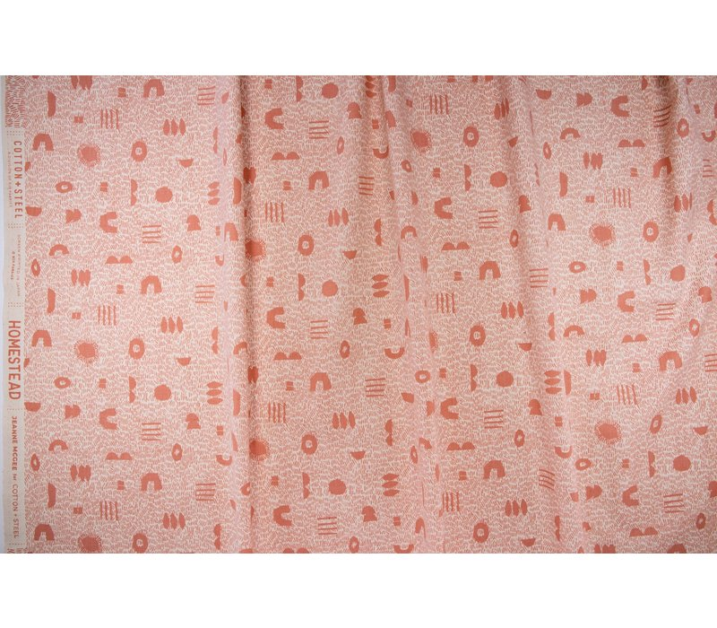 Cotton Homestead - Unbleached Peach