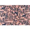 Cotton + Steel Cotton Homestead - Peach Shapes