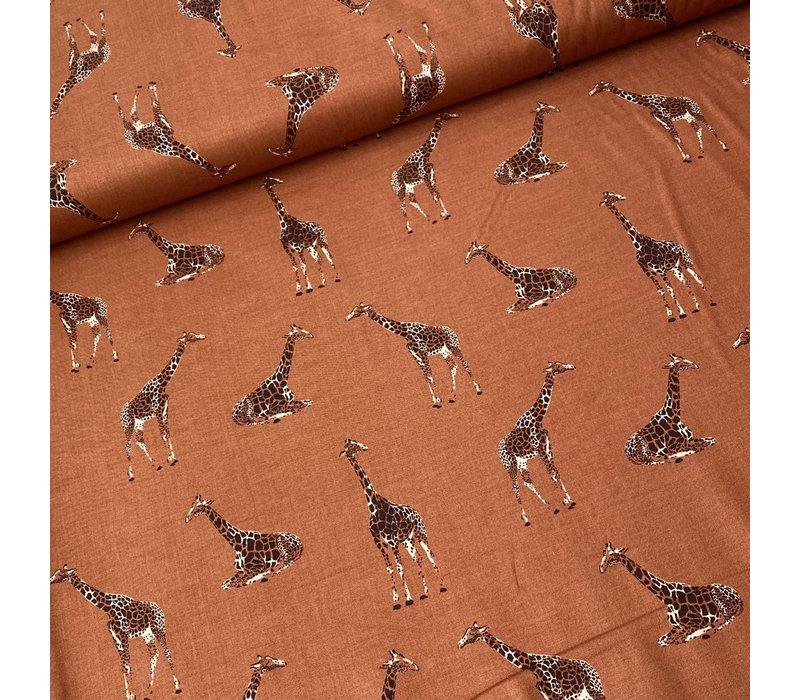Cotton Serengeti - Terra Giraffe