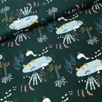 Cotton Pondlife - Darkgeen Ducks