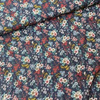 Blouse Viscose Flowerfield Washed Grey