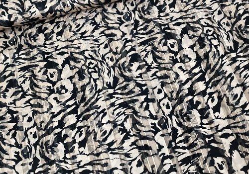 Editex Blouse Gold Stripe Camouflage