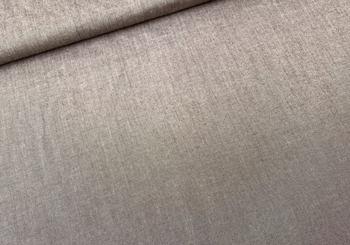 De Stoffenkamer Shirt Mix Cotton Melange Brown