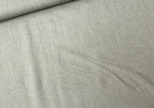 De Stoffenkamer Shirt Mix Cotton Melange Green