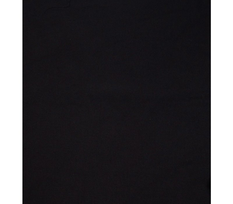 Brushed Gabardine Black