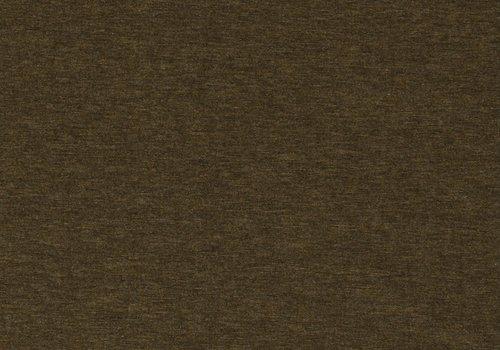 De Stoffenkamer Extra dik tricot - punta melange mustard