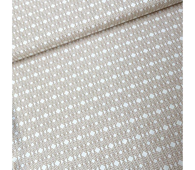 Cotton Dale Allen-Rouse Oker Pattern