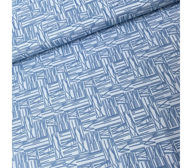 Cotton Whistler Studios Light Denim Blue