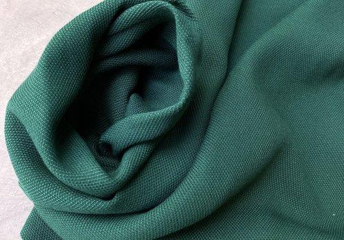De Stoffenkamer Structuur Viscose Denim Intense Green