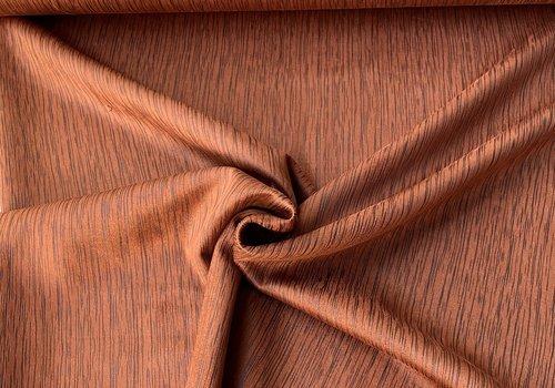 De Stoffenkamer Suede Caramel stripes
