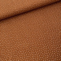 BIO Sweatertricot Rusty Brown spicks