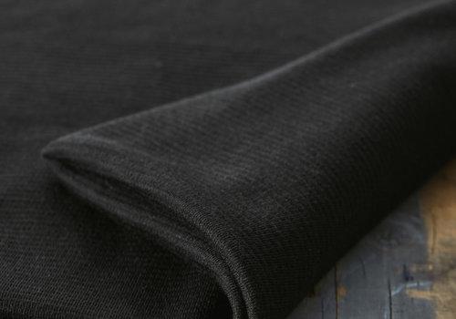 MeterMeter Organic Woolen Ottoman - Black