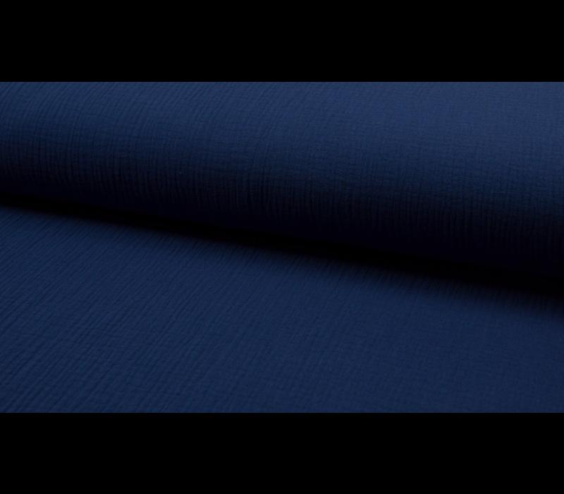 Double Gauze Tetra - dark jeans