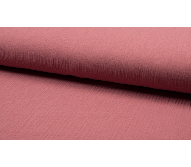 Double Gauze Tetra - old pink