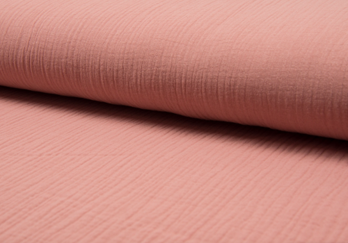 De Stoffenkamer Double Gauze Tetra - soft pink