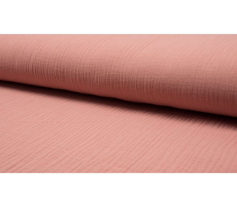 Double Gauze Tetra - soft pink