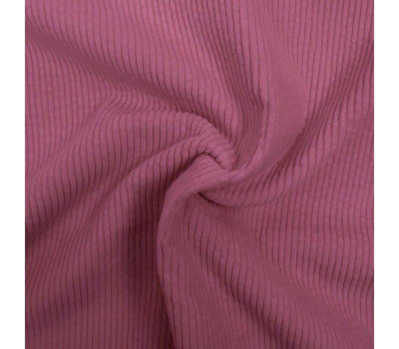Corduroy brede ribfluweel - Lavendel Roze