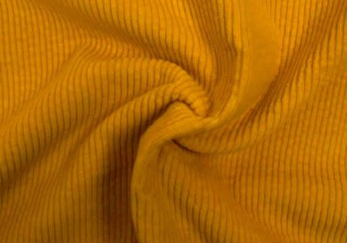 De Stoffenkamer Corduroy brede ribfluweel - sun